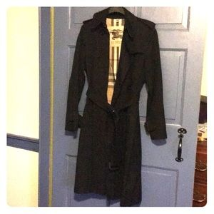 Burberry Trench Coat Black Size 6